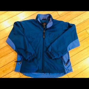 LL Bean zip up jacket outerwear all weather L